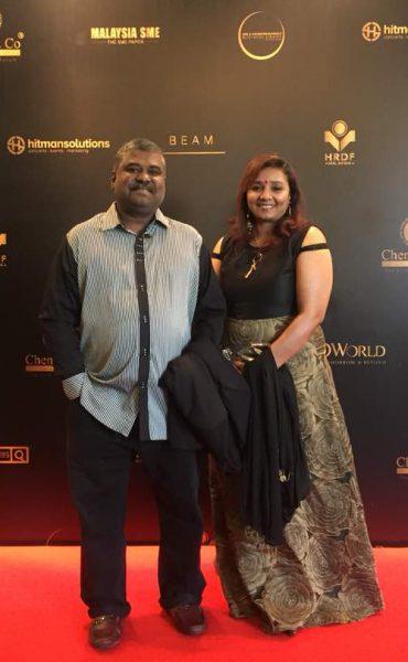 Mr Nithiaseelan and business partner, Mrs. Shoba