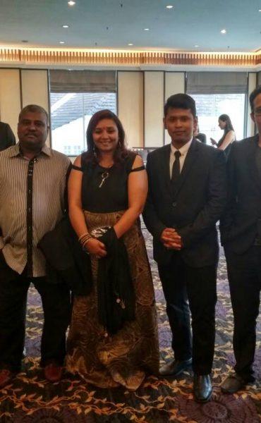 Team members of Twenty First Century Sports (M) Sdn Bhd
